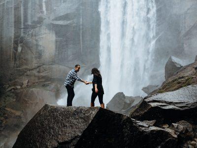 Bomnara + Derek at Yosemite