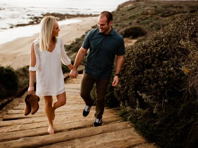 Brianne + David Reef Point Engagement