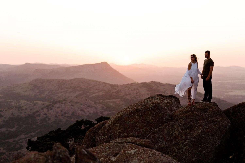 Boho Desert Engagement Session