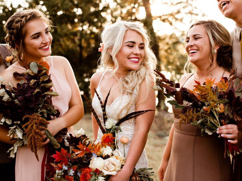 Fall Wedding Ideas - Woodsy Wedding