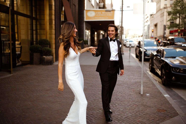 white engagement dress