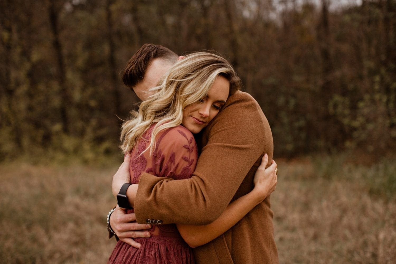 arbor hills engagement session