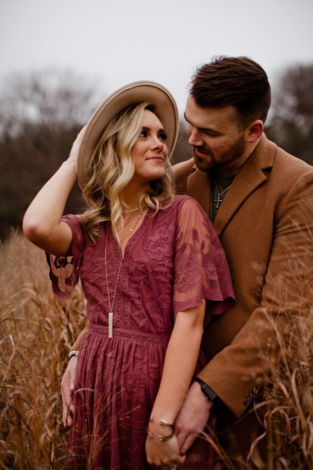 arbor hills nature preserve engagement