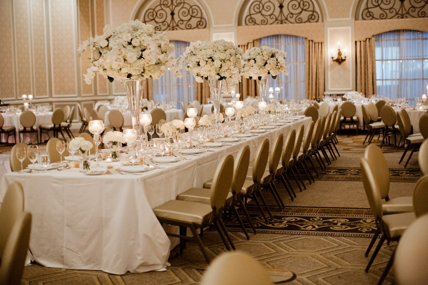 adolphus hotel dallas wedding - grand ballroom