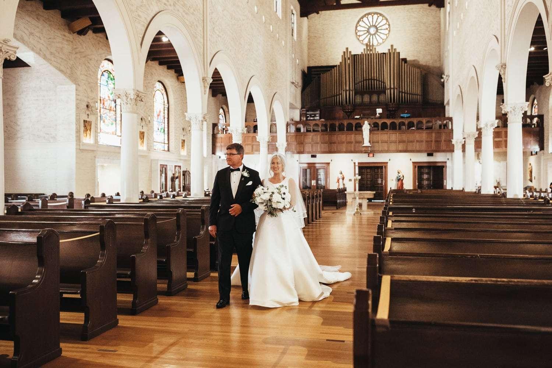 St Joseph Cathedral Wedding