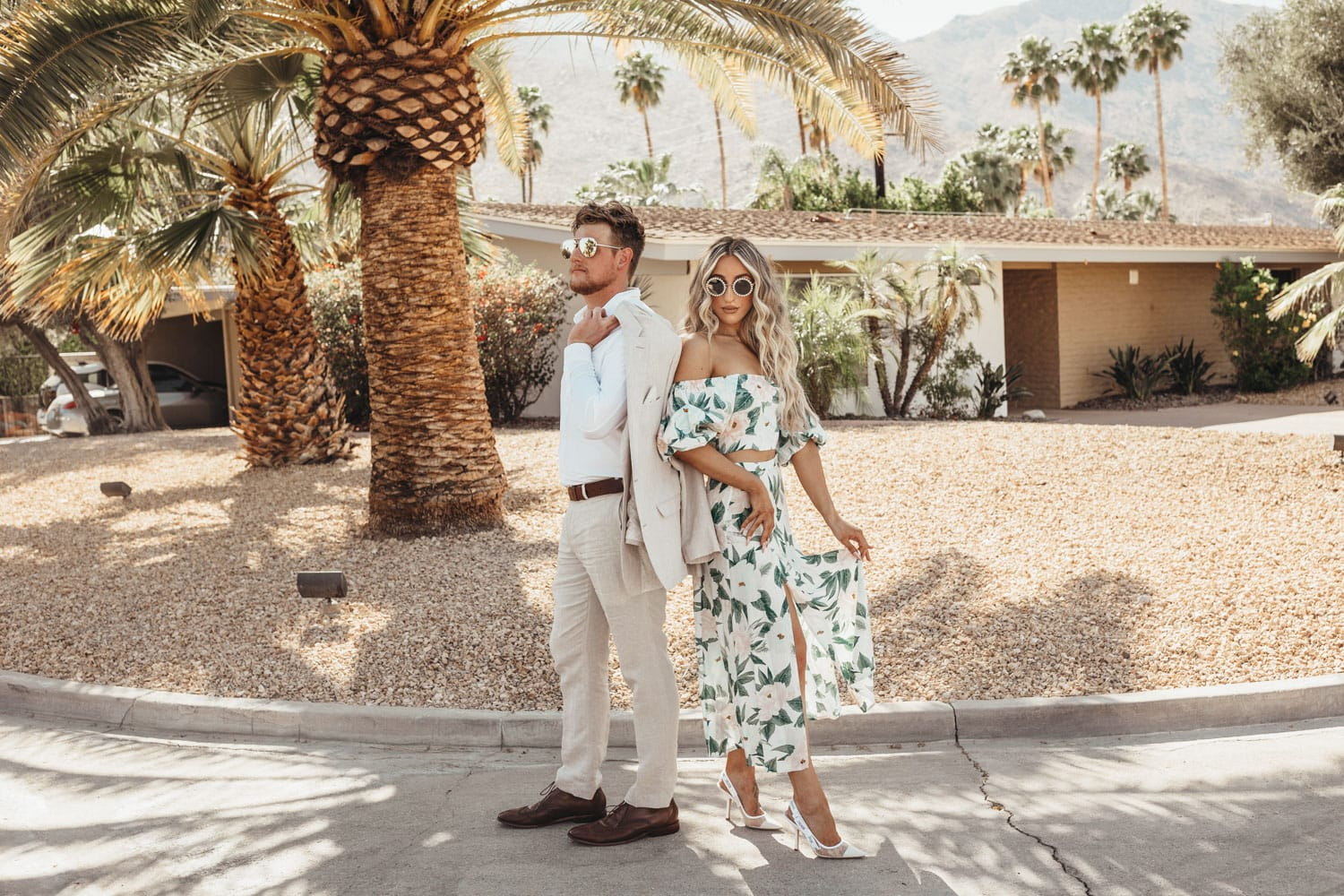 Palm Springs Engagement Photographer